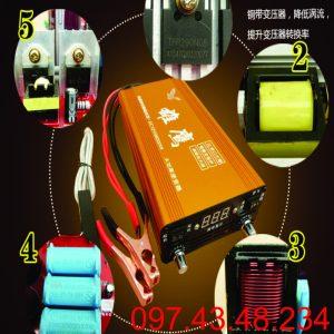 MÁY KÍCH CÁ TF-98000W ( 5 chế độ)